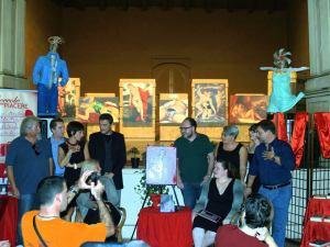 Alcuni degli autori di Attimi Infiniti presenti al Festival di Zibello